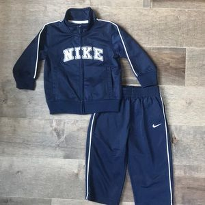 Nike 2 piece track suit size 12 months